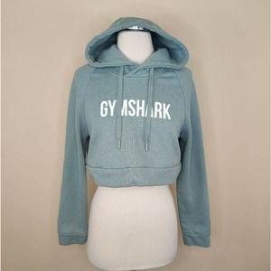 Gymshark Cropped Logo Hoodie Sweatshirt